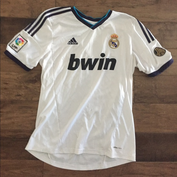 newest 75358 dab15 2012-2013 Real Madrid home kit, Cristiano Ronaldo